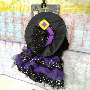 💲3/$15 Bootique witch cat costume one size NWT